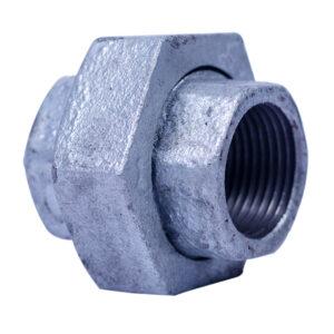 """Galvanized Iron Heavy Duty Union Patente 25mm 1"""" FS"""