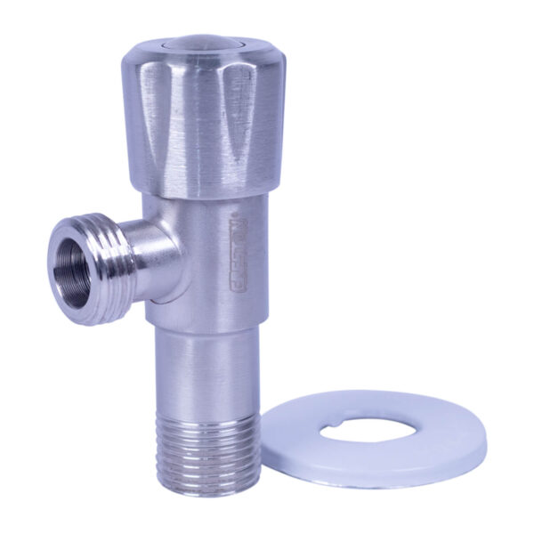 Stainless Angle Valve 1/2''x1/2'' CPL-038