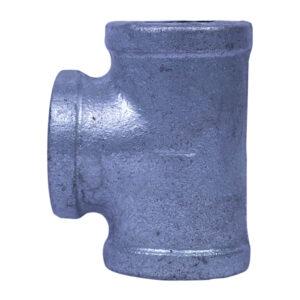 "Galvanized Iron Heavy Duty Tee 025mm 1"""