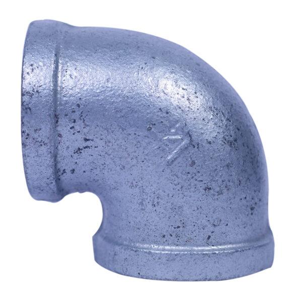 "Galvanized Iron Heavy Duty Elbow 032mm 1-1/4"" x 90degree"