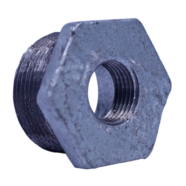 "Galvanized Iron Heavy Duty Bushing 032mm 1-1/4""x1/2"""