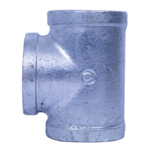 "Galvanized Iron Heavy Duty Tee 038mm(1-1/2"")"