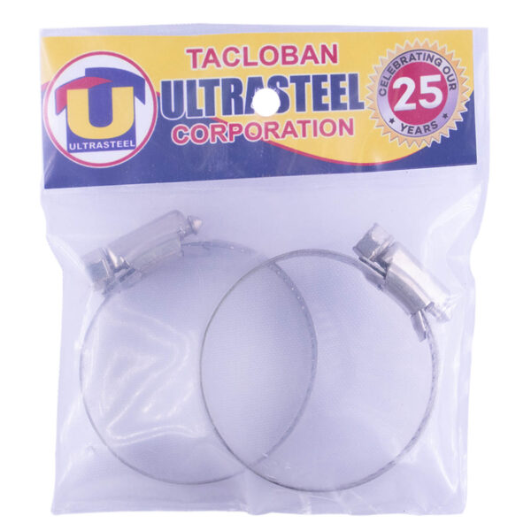 """Stainless Hose Clamp 2"""" (2/1pk)"""