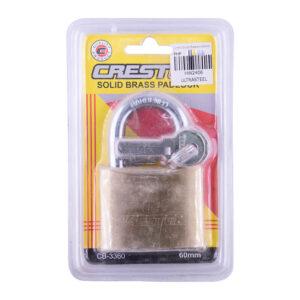 Creston Brass Padlock 60mm (CB3360)