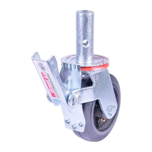 """GL Caster 6"""" Swivel Scaffolding Caster w/ Brake EFBMB06 260kg."""