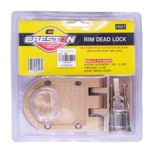 Creston Rim Dead Lock Single H501