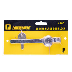 Powerhouse Sliding Glass Door Lock #105 A261
