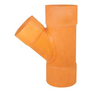 "Sanitary PVC S1000 Wye 8""x6"""