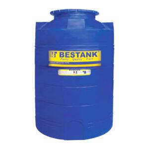 WT-2000 PE Vertical Blue Tank