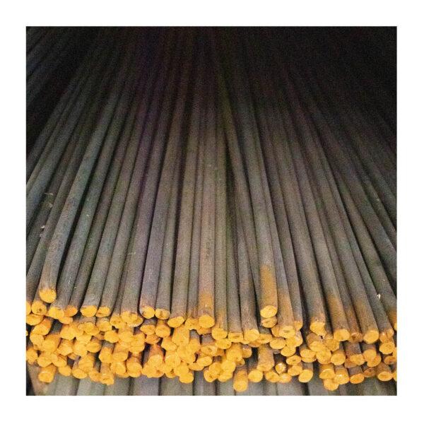 """Plain Bar 12mm 1/2"""" 1/2 STD (5.00kg) Orange"""