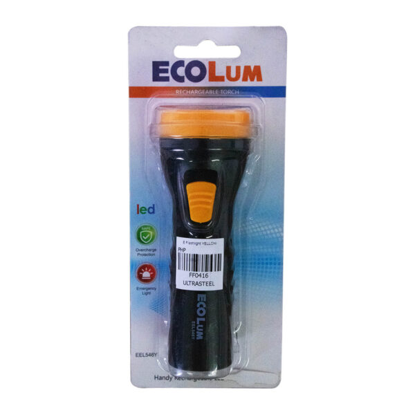 FFLY ECOLUM Flashlight YELLOW EEL546Y