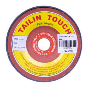 "Tailin Greentouch PVA Sponge Wheel 4"" #C1000 for Granite"