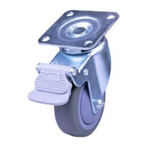 """GL Non-Marking Caster 3"""" ET03MB Swivel W/ Brake"""