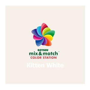 Boysen Mix & Match SG Pastel Base Kitten White Page-10 B-7151 4L