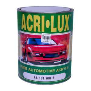 Acri-Lux Acrylic Topcoat Water White Clear 4 Liters