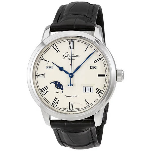 Glashütte servicing intervals mens watch