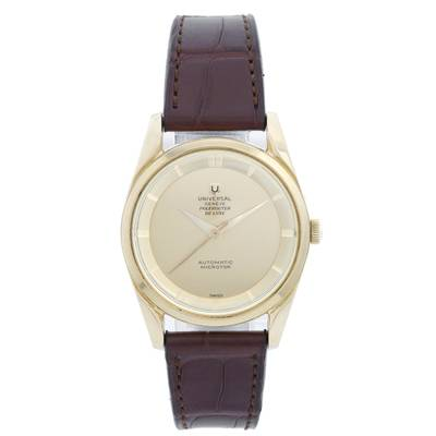 Universal Geneve watch repairs Repairs by post