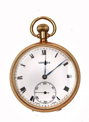 Vertex pocket watch repairs Repairs by post