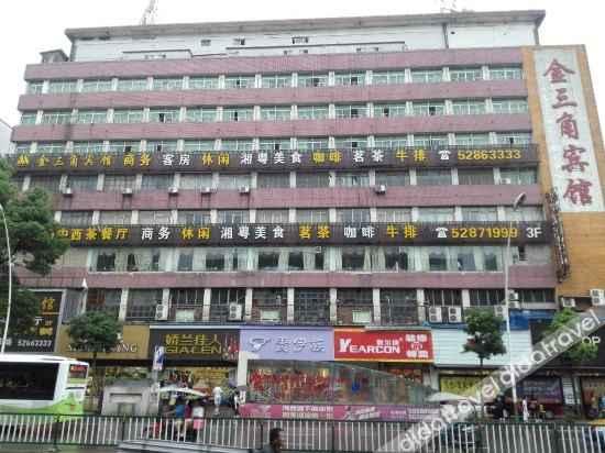 外观 Jinsanjiao Hotel