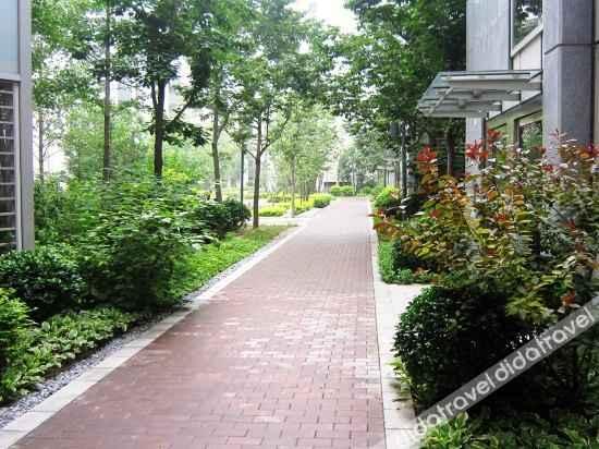 外观 Yuju Service Apartment (Beijing Yansha Embassy Area)