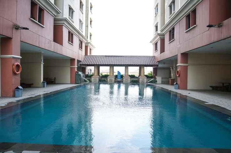 SWIMMING_POOL Comfy 2BR Apartment at Mediterania Gajah Mada By Travelio
