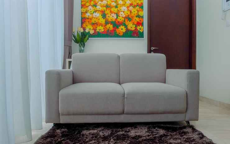 2BR with Private Lift at Menteng Park Apartment By Travelio