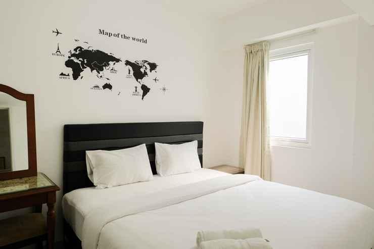 BEDROOM 2BR Artistic Apartment Aeropolis Residence By Travelio