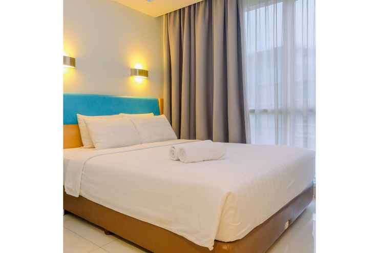 BEDROOM 1BR High Quality Apartment at Karawang By Travelio