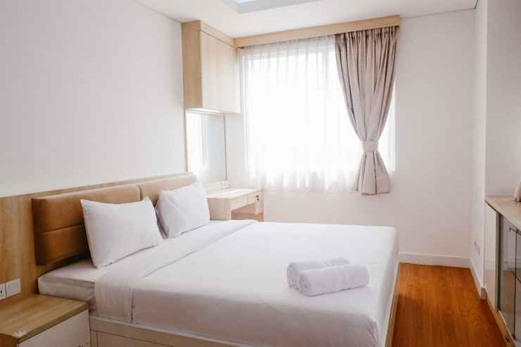 BEDROOM Comfortable 2BR Apartment at One Park Residence Gandaria By Travelio