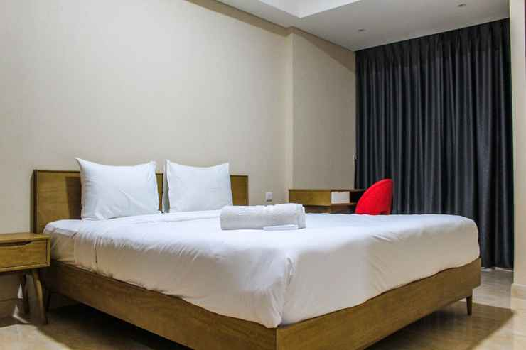 BEDROOM Good View 1BR Apartment at Gold Coast PIK By Travelio