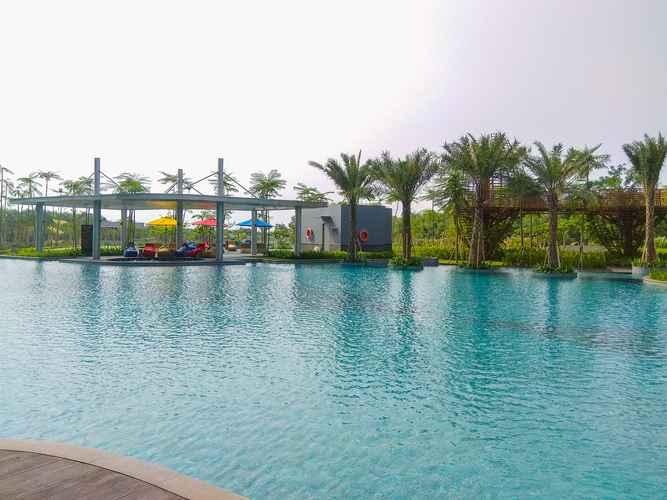 SWIMMING_POOL Best Price & Cozy Studio at Gold Coast Apartment By Travelio