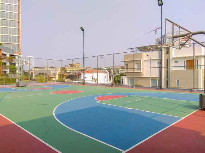 SPORT_FACILITY 1BR with Sea View at Gold Coast Apartment near PIK By Travelio