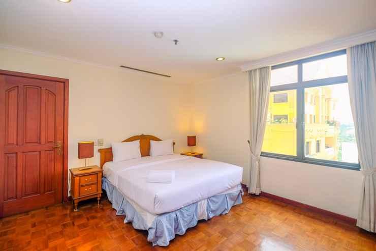 BEDROOM Strategic Place 2BR at Kusuma Chandra Apartment By Travelio