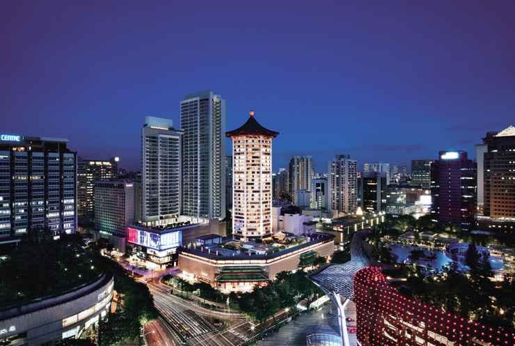 EXTERIOR_BUILDING Singapore Marriott Tang Plaza Hotel