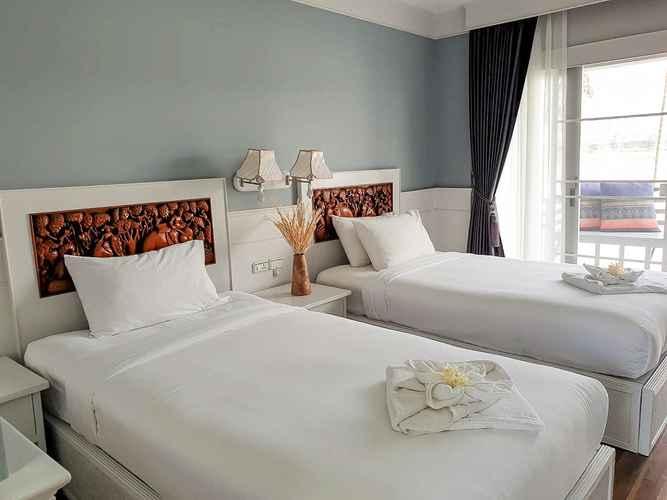 BEDROOM โรงแรม ริเวอร์ บรีซ เชียงแสน