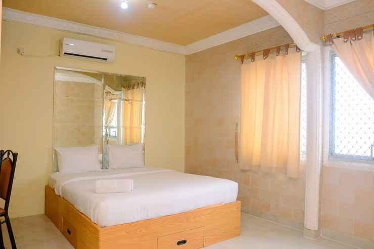 BEDROOM Cozy and Relax 1BR Mediterania Gajah Mada Apartment By Travelio