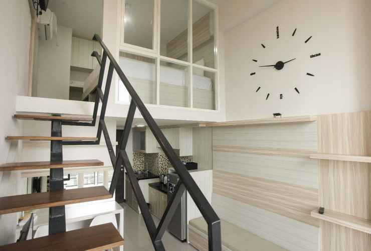 BEDROOM Best Value Loft Studio Apartment at Amega Crown Residence By Travelio