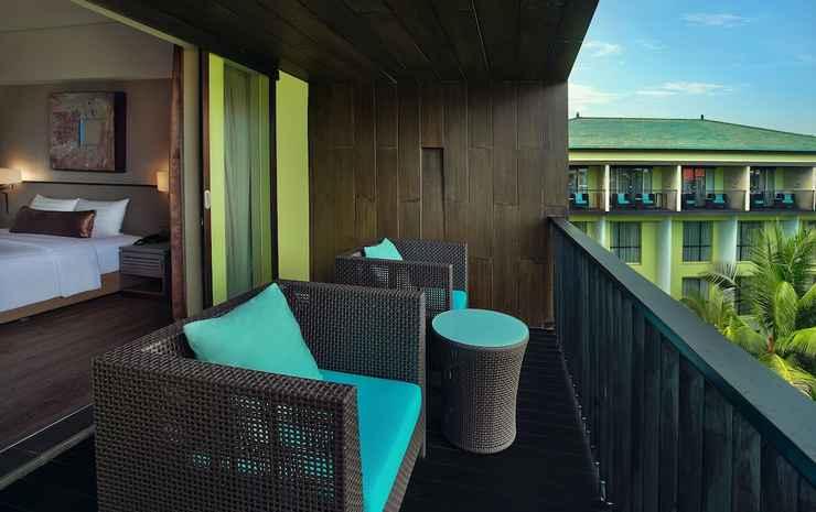 Mercure Bali Legian Bali - Kamar Twin Deluks, balkon