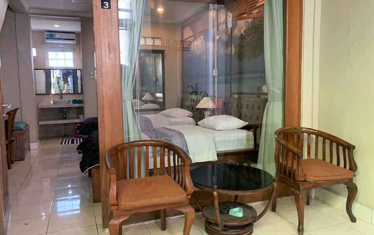 Sus Beach Cottages 1 Bali - Kamar Twin Superior