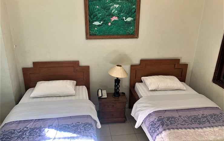 Sus Beach Cottages 1 Bali - Kamar Twin Standar