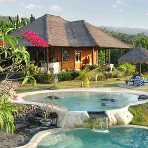Villa With 3 Bedrooms in Kabupaten Buleleng, With Wonderful sea View, Private Pool, Furnished Garden - 3 km From the Beach