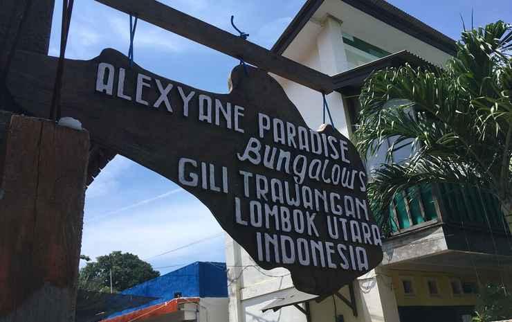 Alexyane Paradise Bungalow Lombok -