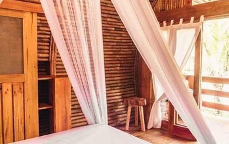 Lagoona Beach Bungalows Pangandaran - Bungalow, 1 Tempat Tidur Queen, non-smoking, pemandangan kebun