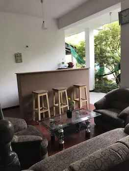 Lobby Sitting Area Unawatuna Hostel Honey Packers