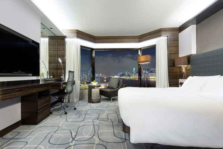 BEDROOM โรงแรมนิวเวิลด์ มิลเลนเนียม ฮ่องกง