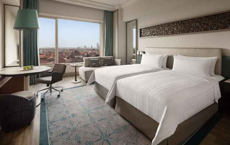 Shangri-La Hotel Surabaya Surabaya - Kamar Deluks, 2 Tempat Tidur Twin