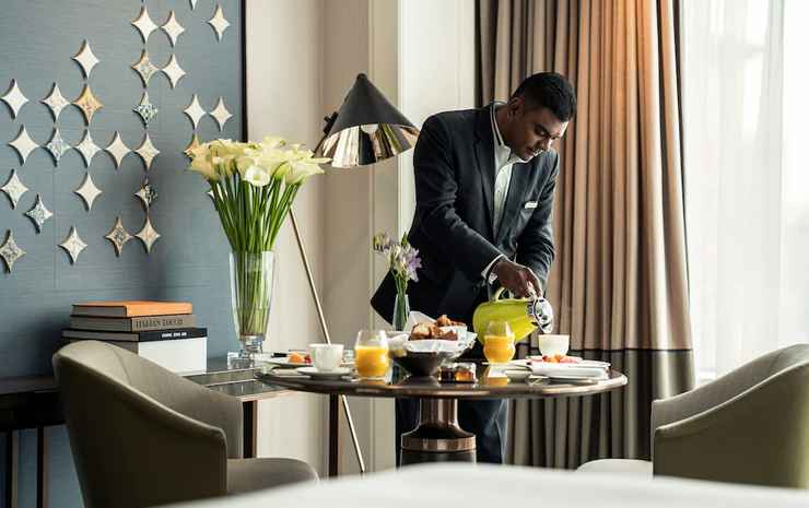 Four Seasons Hotel Singapore Singapore - Kamar, 1 Tempat Tidur King, non-smoking, pemandangan kota (Boulevard)