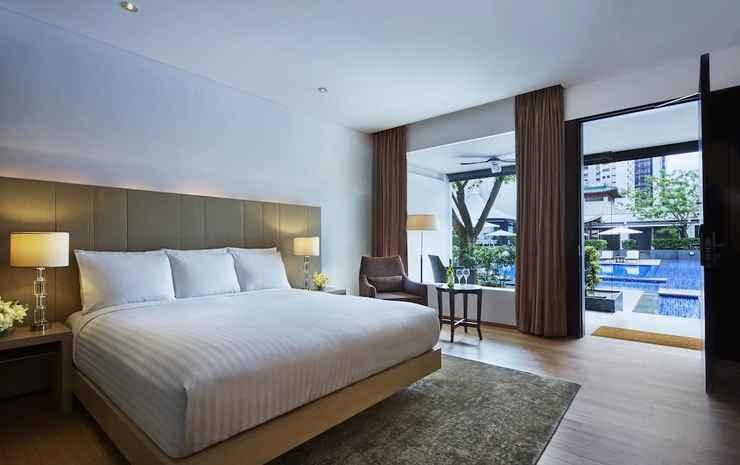 Singapore Marriott Tang Plaza Hotel Singapore - Kamar Klub, 1 Tempat Tidur King, non-smoking, teras
