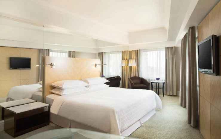 Sheraton Surabaya Hotel and Towers Surabaya - Kamar Premium, 1 Tempat Tidur King, pemandangan kota