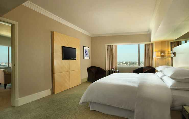 Sheraton Surabaya Hotel and Towers Surabaya - Suite Deluks, 1 kamar tidur, akses business lounge